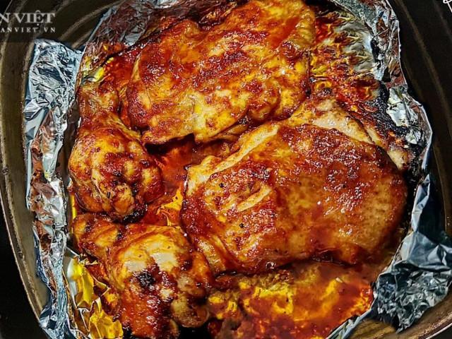 Tuyệt chiêu làm món nướng gà, vịt bằng nồi chiên không dầu thơm ngon, ngọt thịt