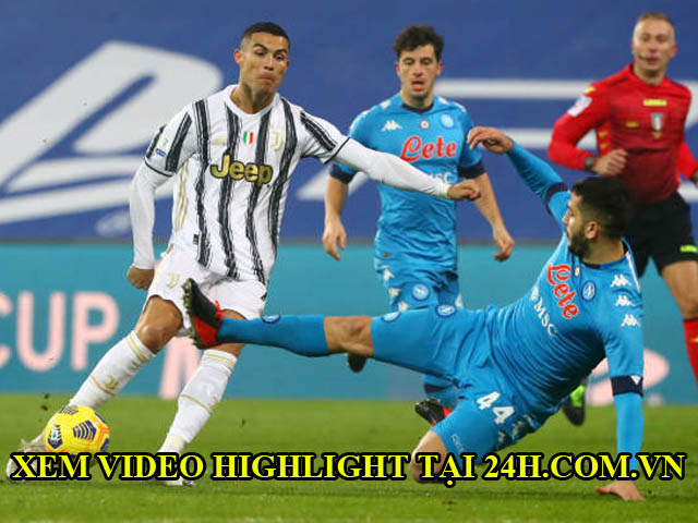 Trực tiếp bóng đá Juventus - Napoli: Insigne đá hỏng phạt đền