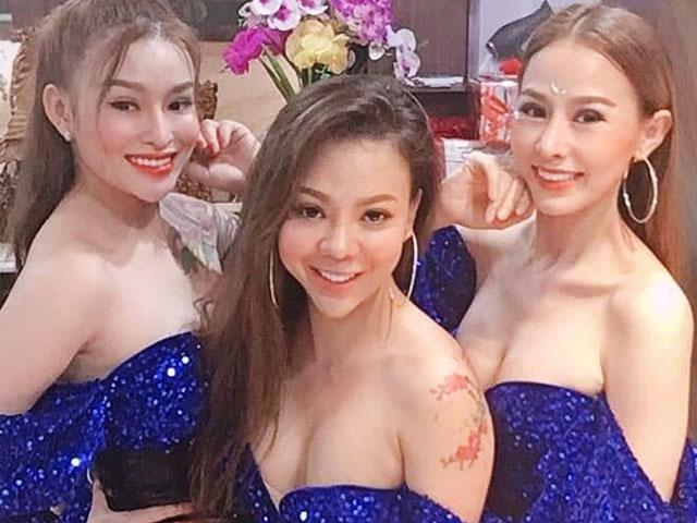 3 cô gái sexy trong nhóm nhạc đắt show nhất hội chợ miền Nam giờ ra sao?