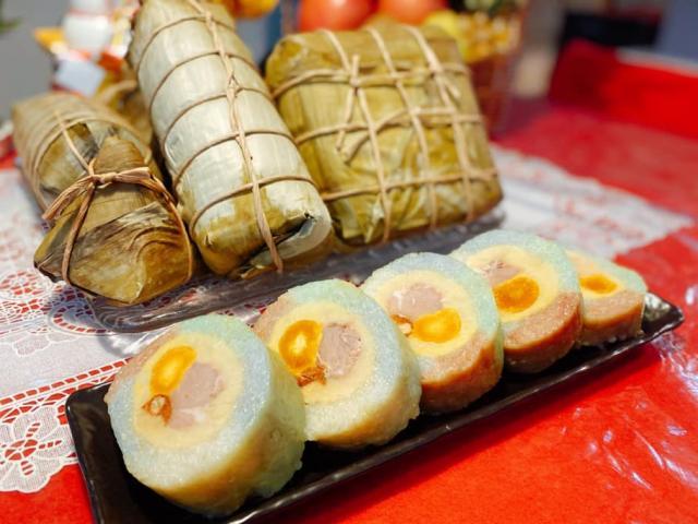Cách làmbánh chưng, bánh tétngũ sắc thơm ngon đẹp mắt cho ngày Tết