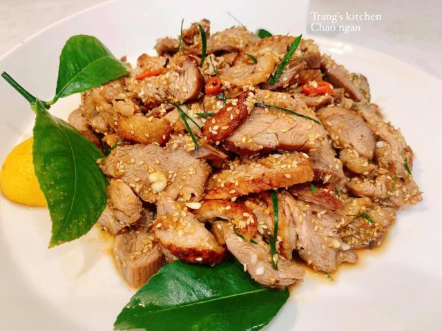 Cách làm món chạo ngan, ăn trong bữa thì tốn cơm, ăn chơi thì tốn mồi