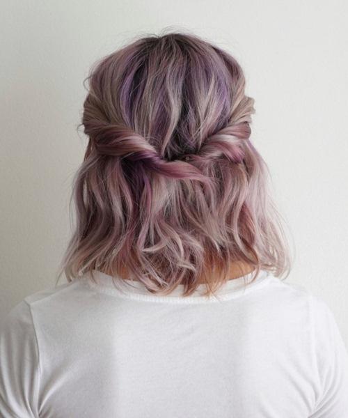 5 kiểu tóc xinh và siêu đơn giản cho nàng tóc ngắn - 12