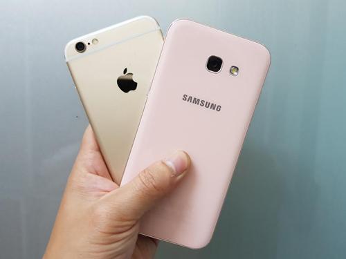 Galaxy A5 2017 với iPhone 6: Chọn cấu hình mạnh hay smartphone 3 năm tuổi? - 7