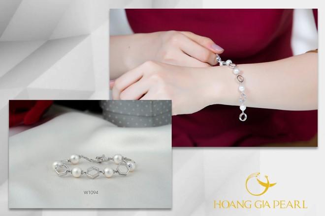 10 mẫu vòng tay ngọc trai dịu dàng cho phái đẹp - 9