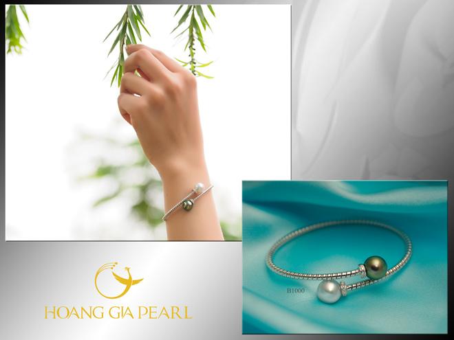 10 mẫu vòng tay ngọc trai dịu dàng cho phái đẹp - 10