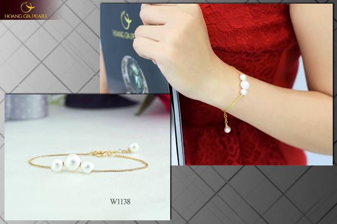 10 mẫu vòng tay ngọc trai dịu dàng cho phái đẹp - 2