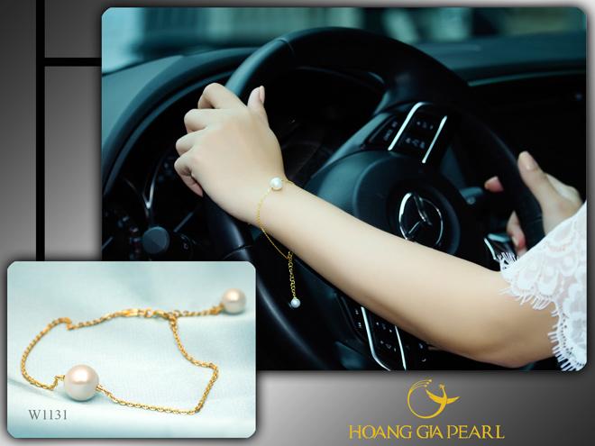 10 mẫu vòng tay ngọc trai dịu dàng cho phái đẹp - 3
