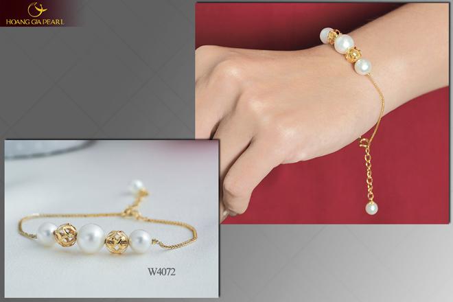 10 mẫu vòng tay ngọc trai dịu dàng cho phái đẹp - 4