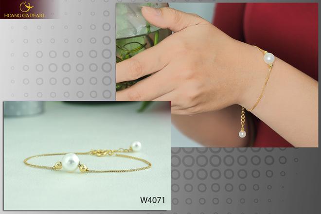 10 mẫu vòng tay ngọc trai dịu dàng cho phái đẹp - 5