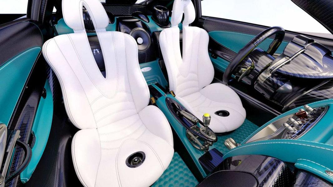 Ngắm vẻ đẹp của chiếc siêu xe Pagani Huayra Coupe cuối cùng - 6