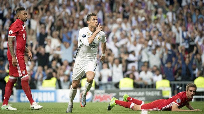 """Real đấu Bayern: Ronaldo hóa """"dũng sĩ diệt Hùm"""", 9 """"nhát kiếm"""" kinh hồn"""