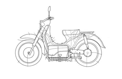 Honda EV-Cub sẽ đi kèm với công nghệ pin tháo rời - 1