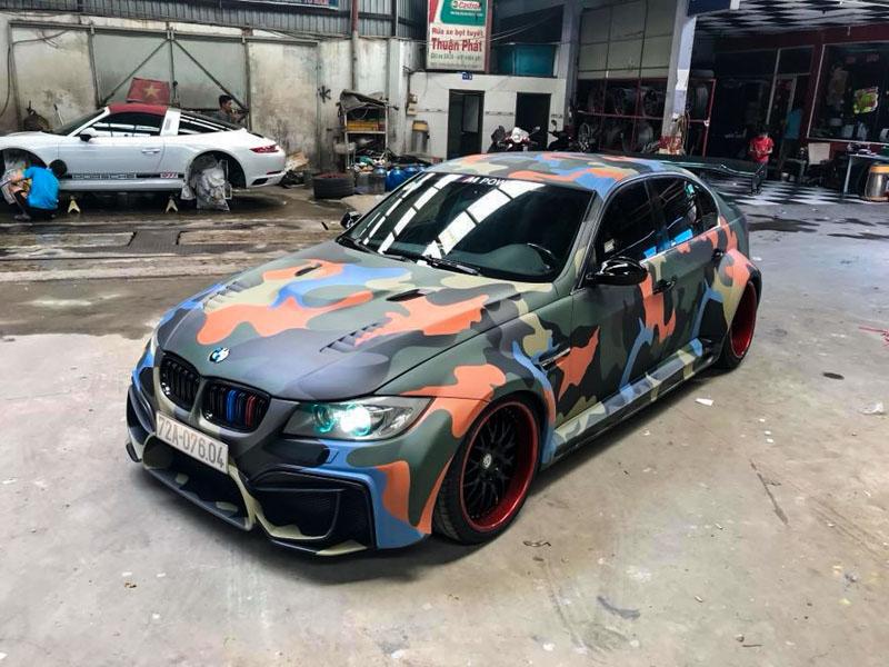 Đã mắt với BMW 3-Series độ hầm hố bởi người thợ Việt tại Sài Gòn - 1