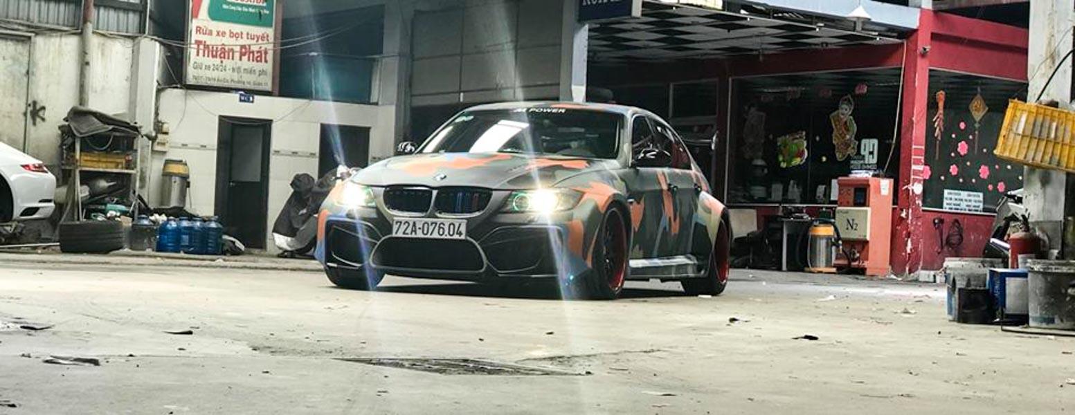 Đã mắt với BMW 3-Series độ hầm hố bởi người thợ Việt tại Sài Gòn - 2
