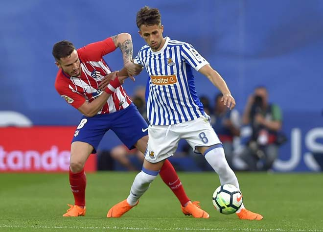 Real Sociedad vs Atletico Madrid: vòng 33 La Liga