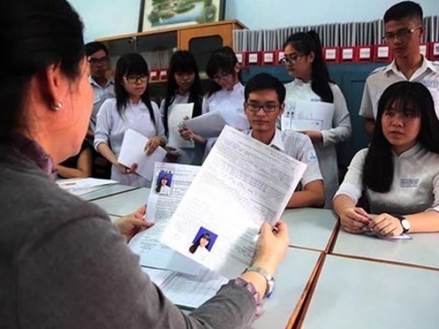 Có trường 60% học sinh không đăng ký xét tuyển ĐH