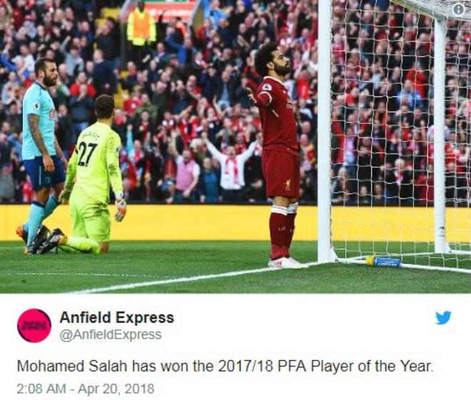 Salah đấu De Bruyne xuất sắc nhất Ngoại hạng Anh: Chưa công bố đã lộ kết quả - 1