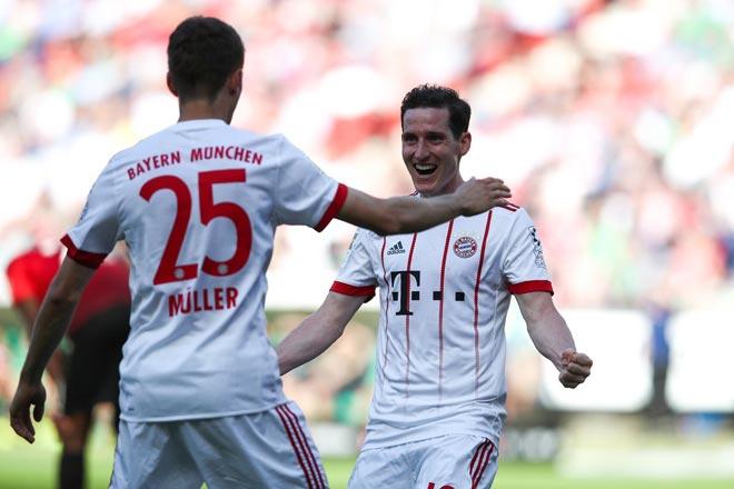 Hannover vs Bayern Munich: vòng 31 Bundesliga