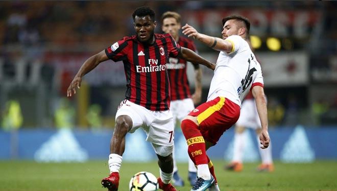 Milan vs Benevento: vòng 34 Serie A