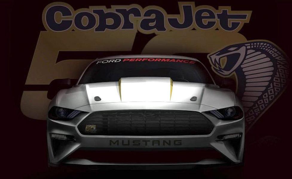 Ford Mustang Cobra Jet 2018: ''Thú dữ'' đua Drag sắp trình làng - 1