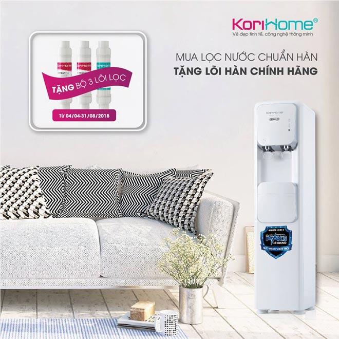 Bộ 4 máy lọc nước tích hợp nóng lạnh Hàn Quốc thế hệ mới đổ bộ thị trường - 3