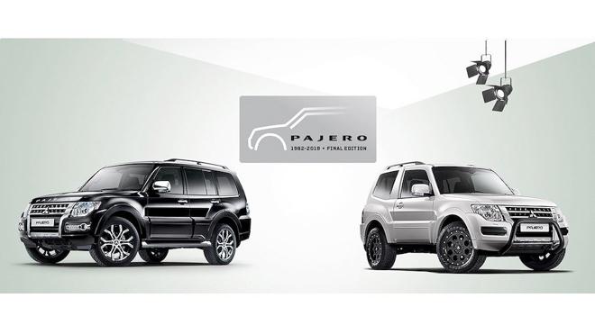 """Mitsubishi ra mắt phiên bản cuối cùng của """"huyền thoại"""" Pajero - 1"""