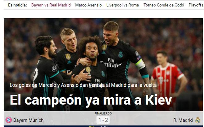 """""""Vua"""" Real khuất phục Bayern: Báo chí thế giới tung hô """"Kẻ hủy diệt"""""""