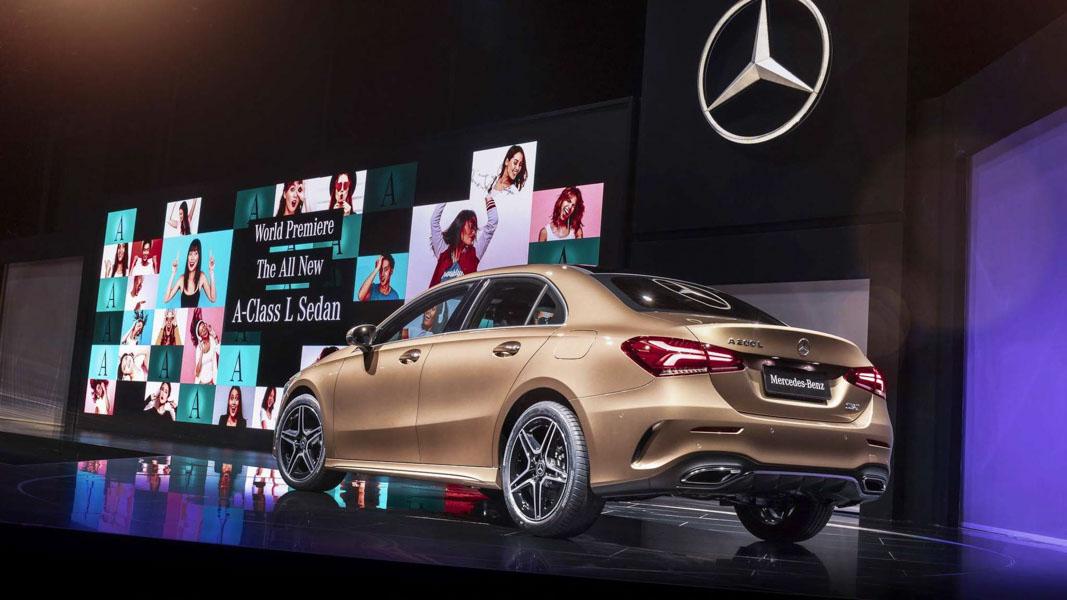 Mercedes-Benz A-Class Sedan 2019 phiên bản trục cơ sở dài ra mắt - 8
