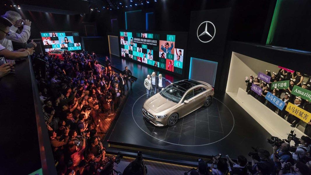 Mercedes-Benz A-Class Sedan 2019 phiên bản trục cơ sở dài ra mắt - 7