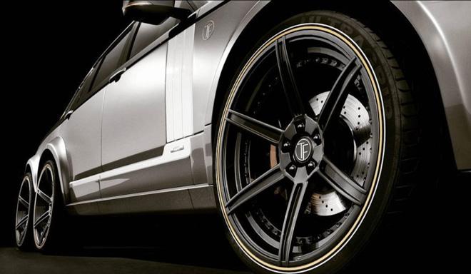 """SUV siêu sang Range Rover hoá thân thành """"bán tải sáu bánh"""" - 8"""