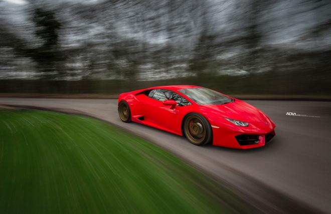 Lamborghini Huracan nổi bật với lớp sơn Rosso Mars và bộ mâm hàng hiệu ADV.1 - 9