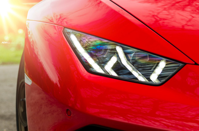 Lamborghini Huracan nổi bật với lớp sơn Rosso Mars và bộ mâm hàng hiệu ADV.1 - 10