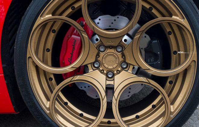 Lamborghini Huracan nổi bật với lớp sơn Rosso Mars và bộ mâm hàng hiệu ADV.1 - 12