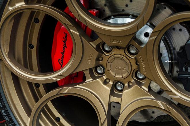 Lamborghini Huracan nổi bật với lớp sơn Rosso Mars và bộ mâm hàng hiệu ADV.1 - 7