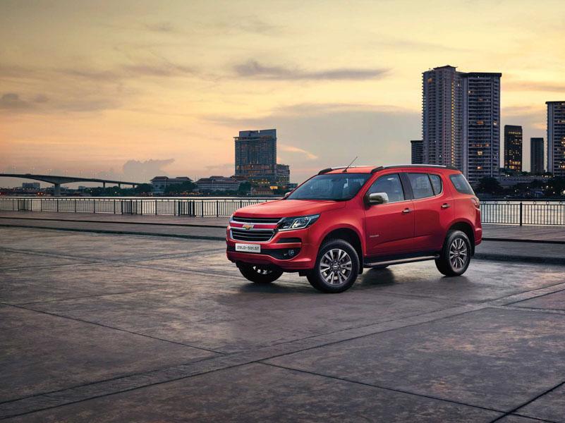 Chevrolet Trailblazer có giá bán từ 859 triệu đồng - 1