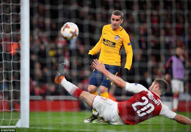 Arsenal - Atletico Madrid: Thẻ đỏ oan nghiệt, siêu sao đua tài - 2