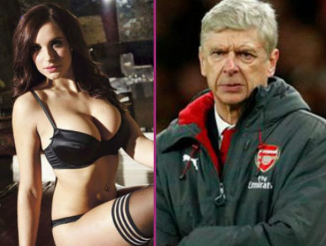 """Kiều nữ """"nói"""" lời từ biệt nóng bỏng với HLV Wenger - 1"""