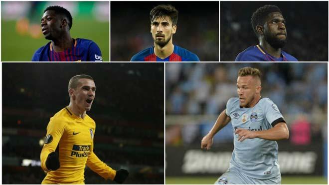 """Barca """"thay máu"""" vì Messi: 10 người """"ra đường"""", dàn tân binh 163 triệu bảng"""