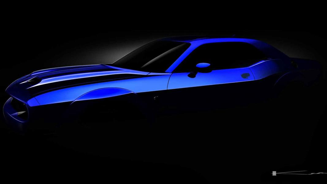 Hãng Dodge nhá hàng siêu xe ''quỷ dữ'' Challenger SRT phiên bản 2019 - 1
