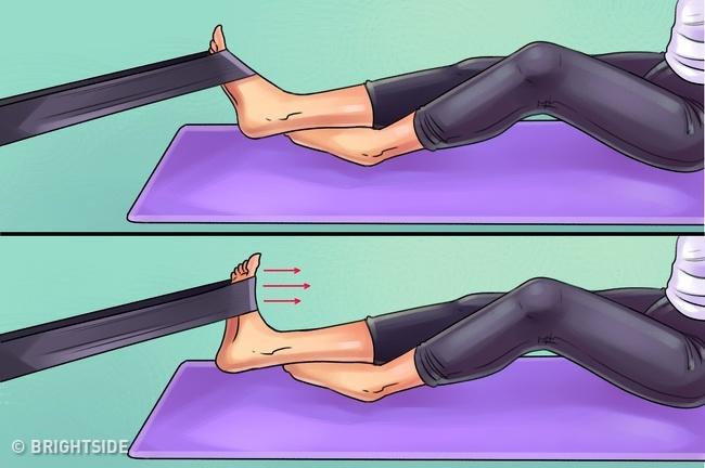 6 bài tập đơn giản giúp giảm cơn đau chân, hông và đầu gối hiệu quả - 4