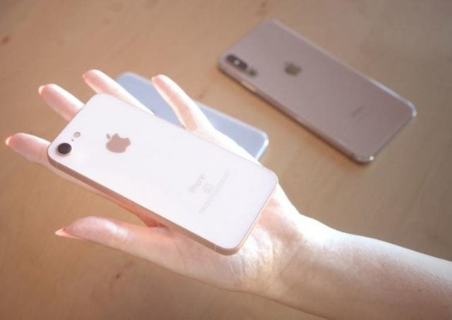 Khó cưỡng trước iPhone X mới và iPhone SE 2 trong thiết kế siêu đẹp - 3