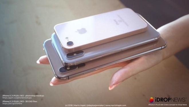 Khó cưỡng trước iPhone X mới và iPhone SE 2 trong thiết kế siêu đẹp - 7