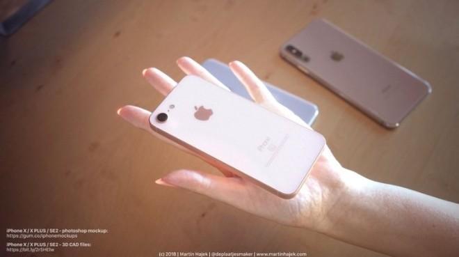 Khó cưỡng trước iPhone X mới và iPhone SE 2 trong thiết kế siêu đẹp - 9