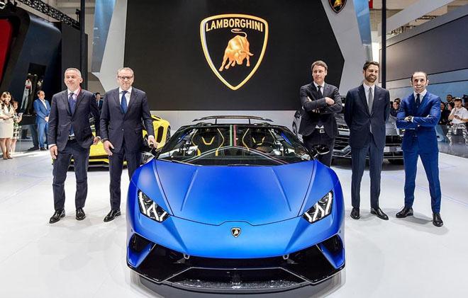 Lamborghini Huracan bản mui trần ra mắt, giá gần 7 tỷ đồng - 3