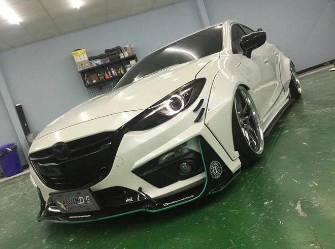 """Cận cảnh gói độ """"thân rộng"""" dành riêng cho Mazda 3 Sedan - 3"""