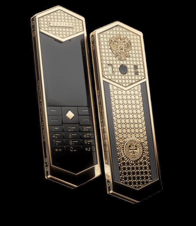 Siêu điện thoại Tsar-Phone giá 691 triệu đồng dịp Tổng thống Putin nhậm chức - 3