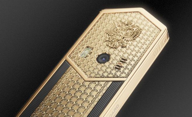 Siêu điện thoại Tsar-Phone giá 691 triệu đồng dịp Tổng thống Putin nhậm chức - 9
