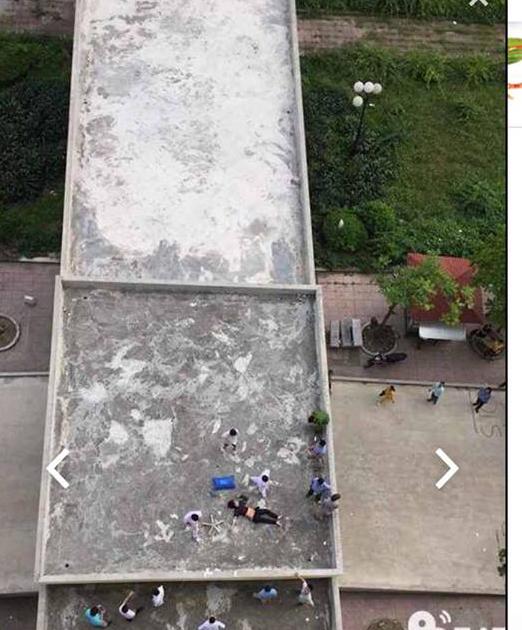 Nam thanh niên rơi từ tầng 11 bệnh viện xuống đất tử vong - 1
