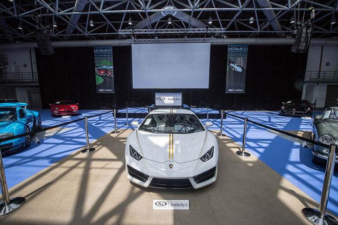 Lamborghini Huracan của Giáo hoàng được bán với mức giá kỷ lục - 3