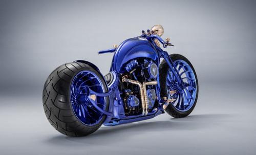 Chiếc Harley Davidson Softail Slim Blue Edition giá 43 tỷ đồng có gì đặc biệt? - 5